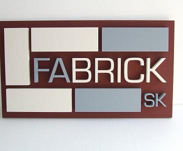 Reklamná 3D tabuľa na stenu