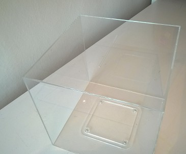 Plexi losovací box 450x450x450mm