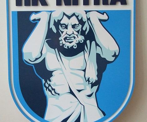 Závesné 3D logo, znak